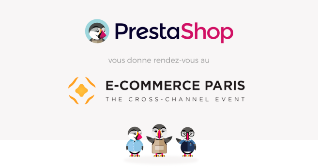 PrestaShop au salon E-Commerce Paris 2015