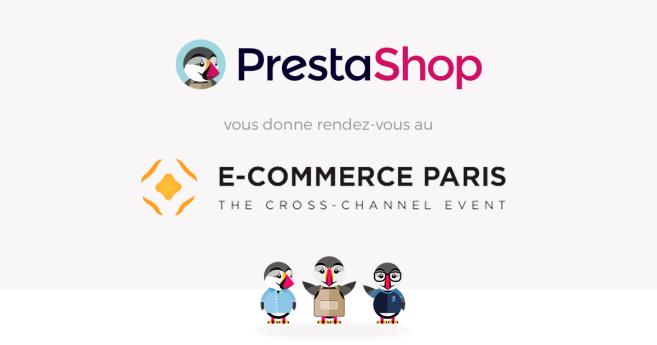 PrestaShop au salon E-Commerce Paris 2015