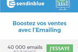 L'Emailing Marketing avec SendinBlue